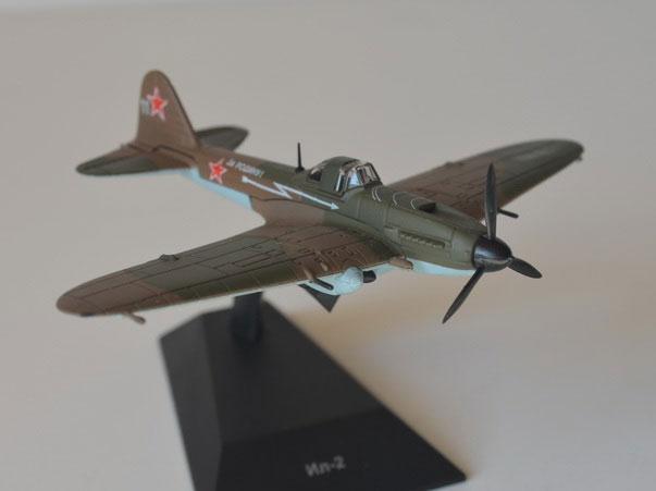 Легендарные Cамолеты №16 Ил-2 (только модель) 1:119 - Легендарные Cамолеты №16 Ил-2 (только модель)