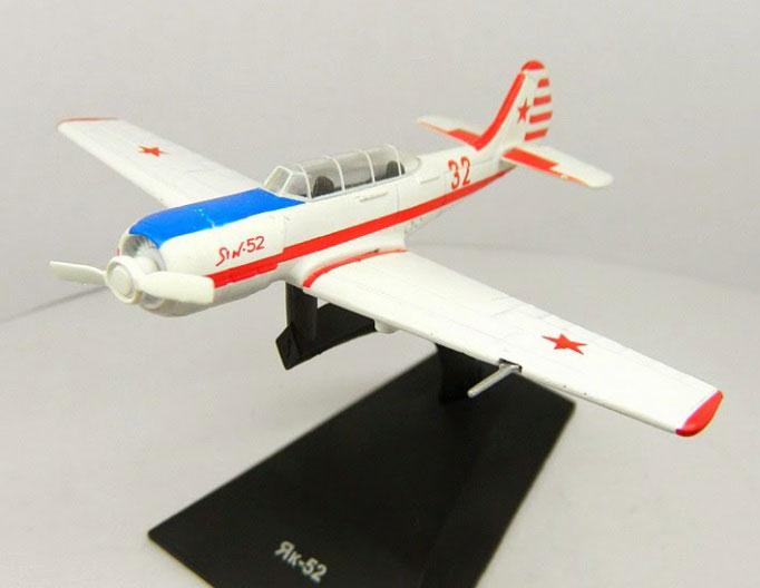 Легендарные Cамолеты №84 Як-52 (только модель) 1:93 - Легендарные Cамолеты №84 Як-52(только модель)